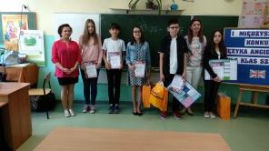 Czytaj więcej o: I Międzyszkolny Konkurs z Języka angielskiego
