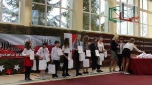 Czytaj więcej o: Podsumowanie Międzyszkolnych Konkursów zorganizowanych z okazji 100 – lecia odzyskania przez Polskę Niepodległości