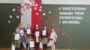 Czytaj więcej o: V Międzyszkolny Konkurs Piosenki Patriotycznej i Wojskowej