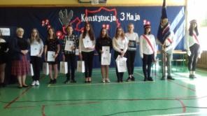 Czytaj więcej o: Wręczenie nagród i dyplomów w IV Powiatowym Konkursie Patriotycznym