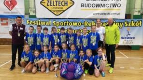 Czytaj więcej o: I miejsce w Festiwalu Sportowo Rekreacyjnym o Puchar Prezydenta Miasta Siedlce