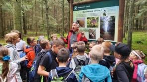 """Czytaj więcej o: Żywa lekcja przyrody w Rezerwacie """"Jata"""""""