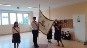 Czytaj więcej o: Lekcja ze Sztandarem Szkoły Podstawowej nr 9  im. H. Sienkiewicza w Siedlcach