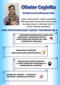 Plakat wyborczy - Oliwier C
